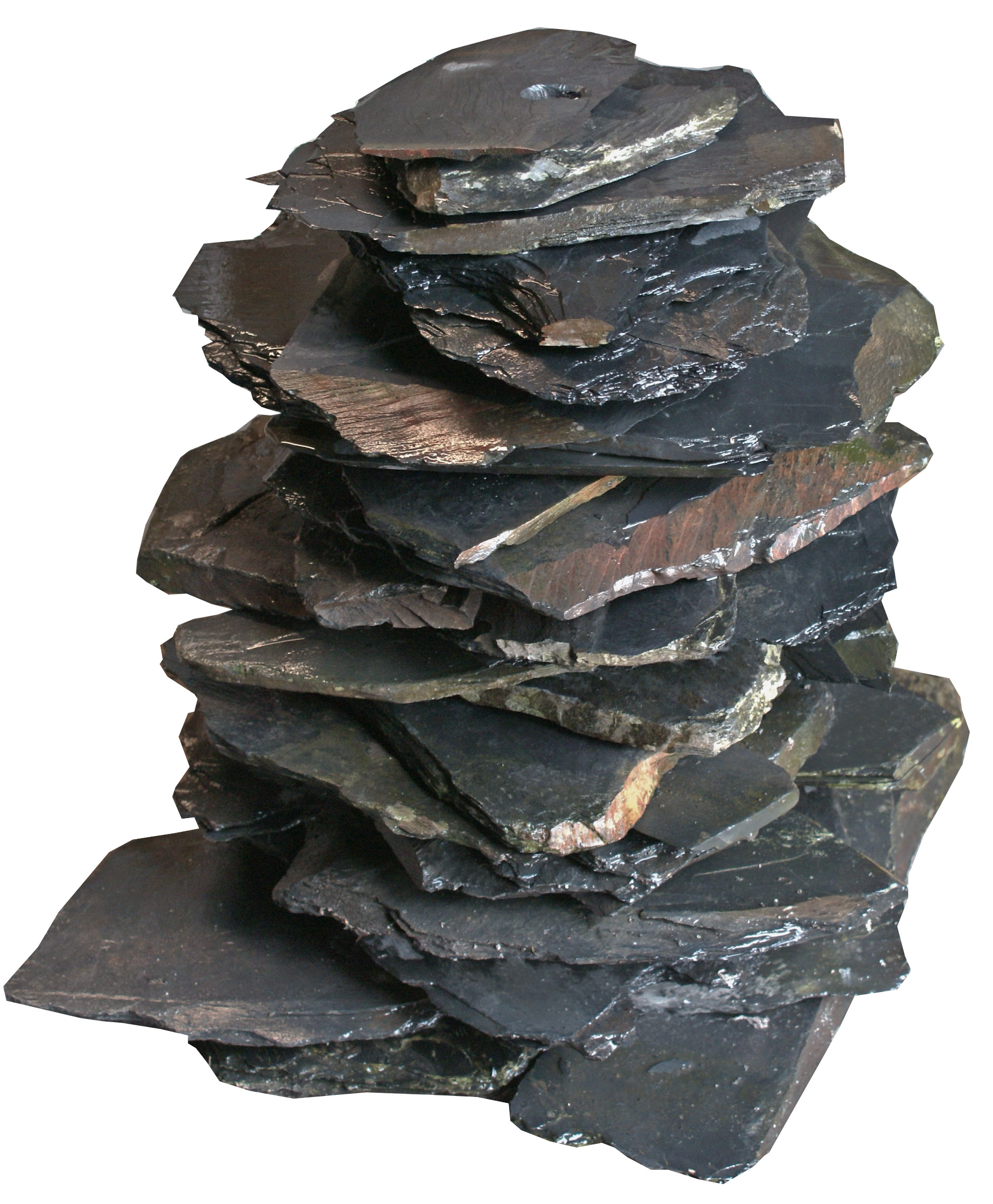 Slate Stack Water Feature Stone Amp Slate Tiles