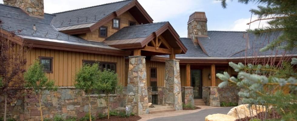 American house roof slate