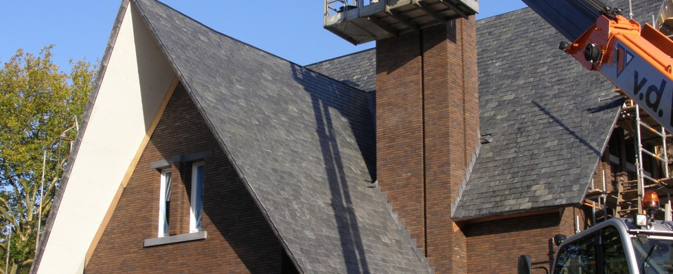 Dutch modern house slate