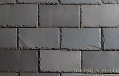 Semi- Weather Blue / Black slate roof tile