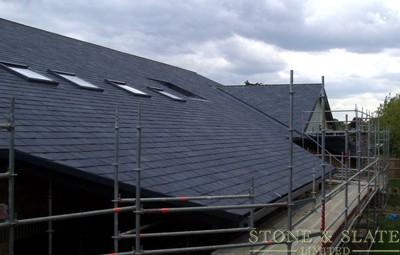 Blue / Black Roof Slate