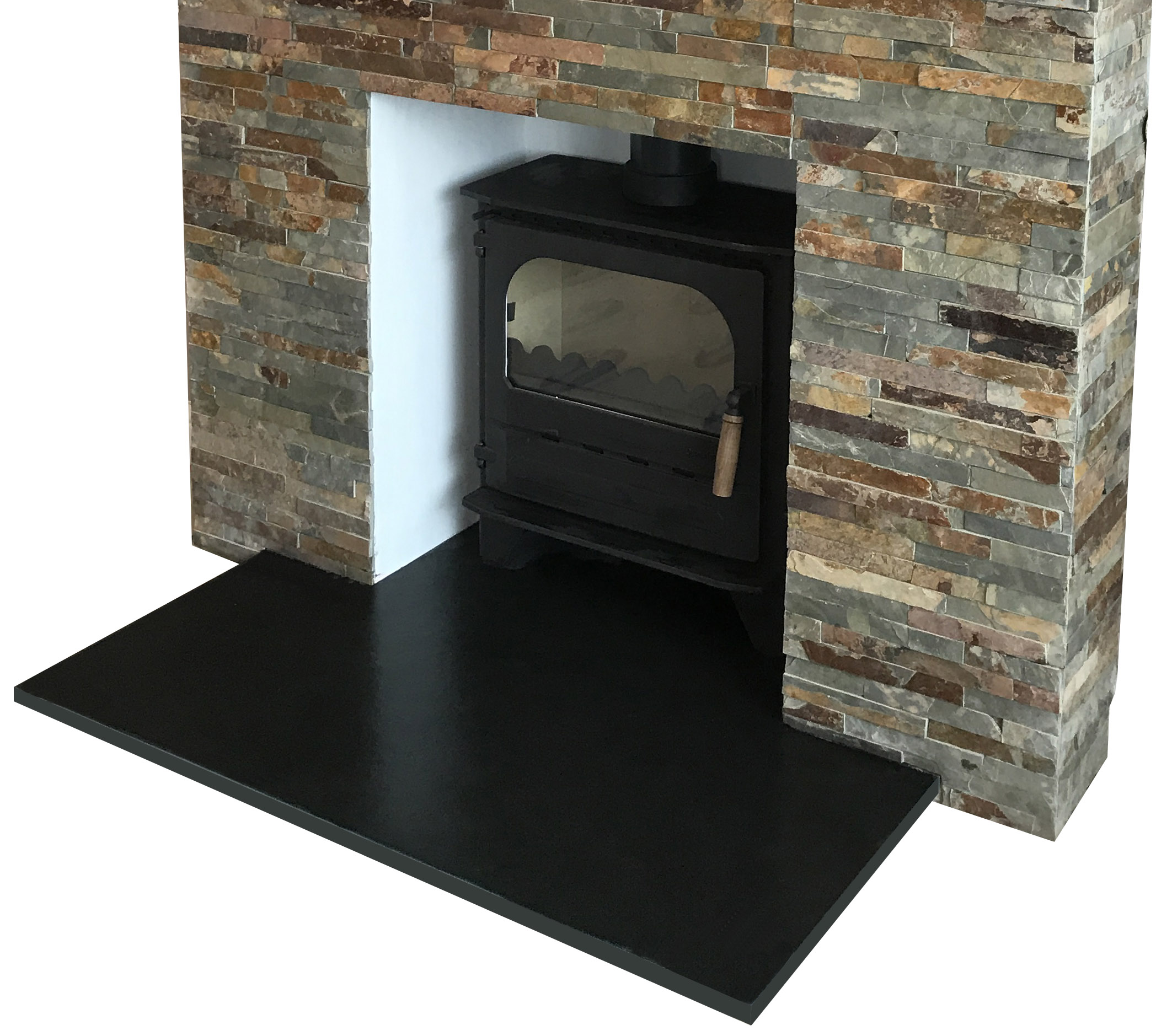 Natural Riven Slate Hearths Stone Amp Slate Tiles