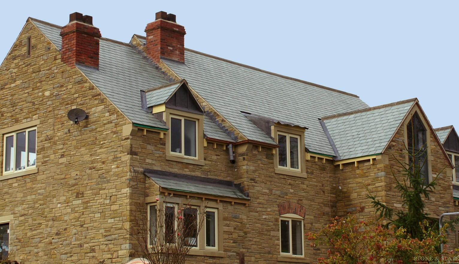 Slate roof tile, stone wall & floor tiles near Sheffield, Nottingham ...