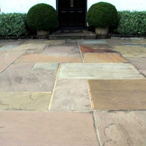 Fossil Mint rustic Indian Sandstone