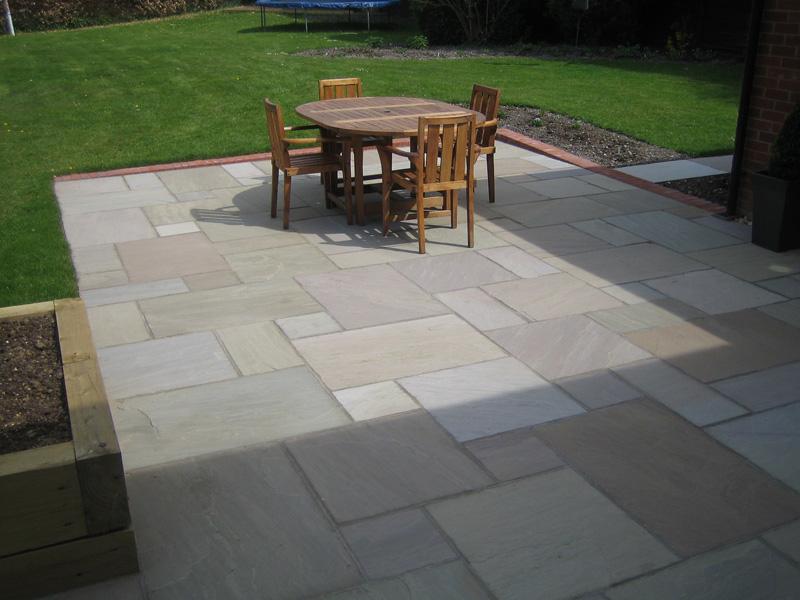 Raj Green Indian Sandstone Stone Amp Slate Tiles
